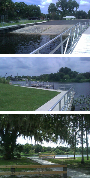 LaBelle Recreation Access Area (Hendry County Boat Dock)