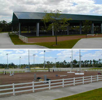 Jim Brandon Equestrian Center / Cholee Park / Okeeheelee Park South / Whispering Pines State Park